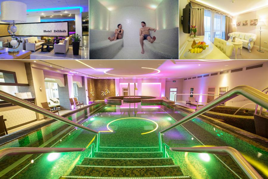 Wellnesshétvége a Hotel Délibábban Hajdúszoboszlón